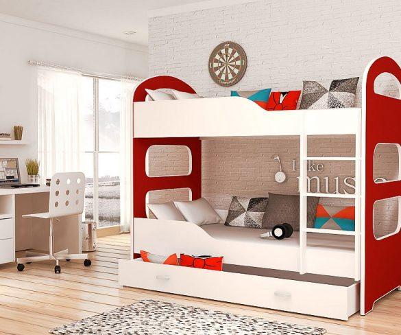 Potrebujete v izbe ušetriť priestor? Čo tak vyskúšať poschodovú posteľ?